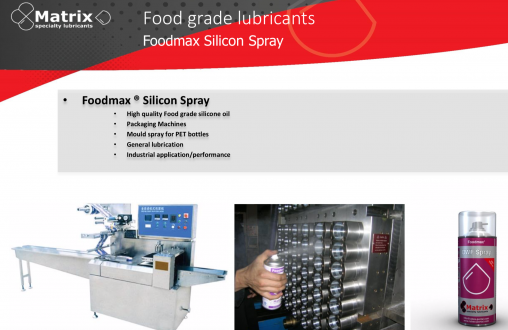 Foodmax Silicon Spray